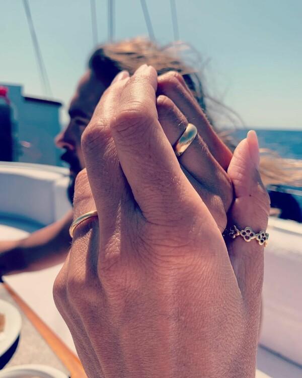 Обручальное кольцо Хайди Клум