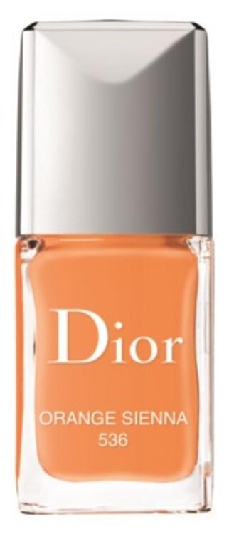 Лак для нігтів Dior Vernis №536 Orange Sienna з літньої колекції макіяжу Wild Earth, Dior