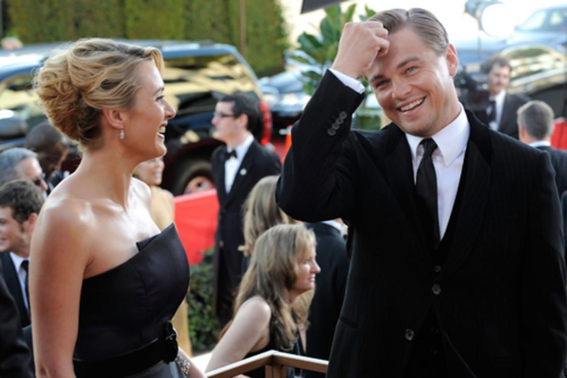 Кейт Уинслет и Леонардо Ди Каприо, 2009
