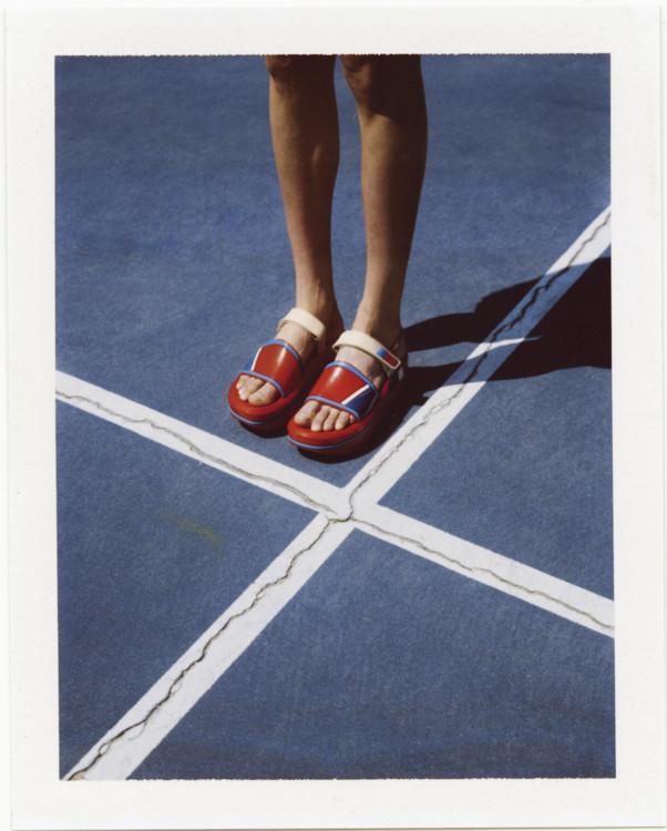 Резиновые сандалии, Prada