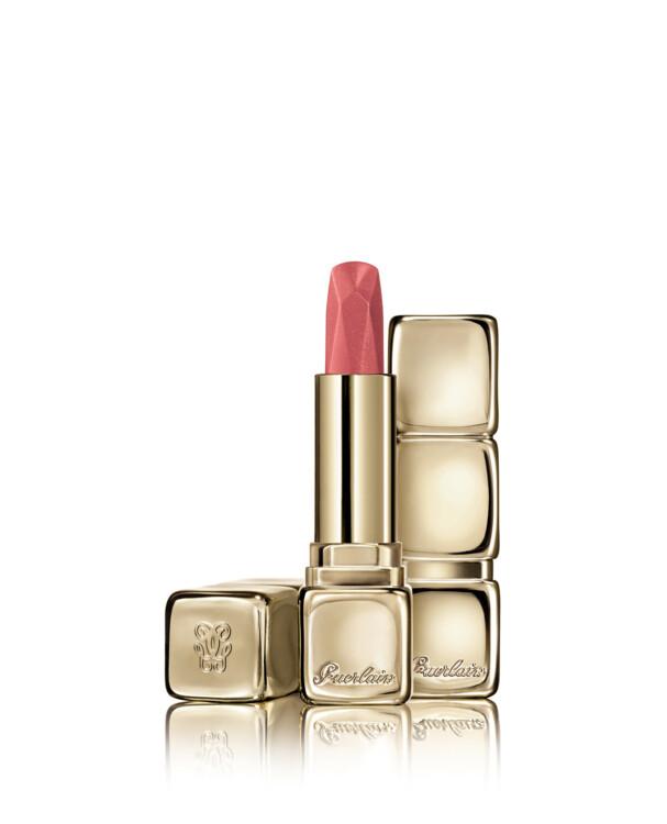 Помада KissKiss Diamond Lipstick з металевим покриттям №544 Peachy Glam, Guerlain, лімітований випуск