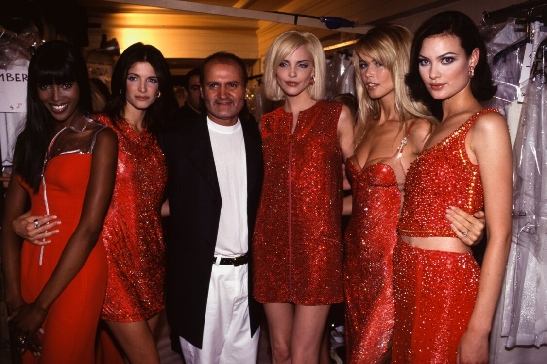 Шоу Versace, 1995