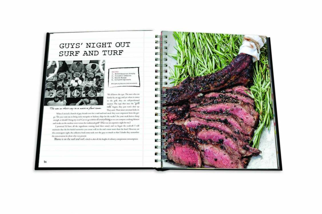 Книга Smoke Fire Menus Recipes Outdoor Entertaining, Assouline