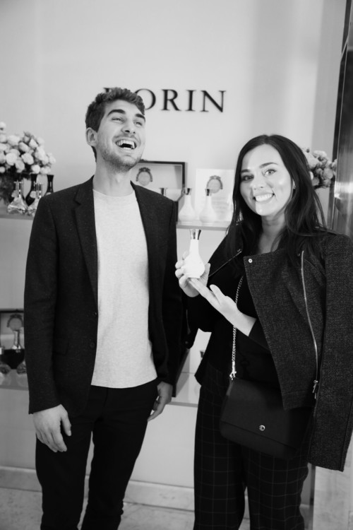 Мазен Насри, слева