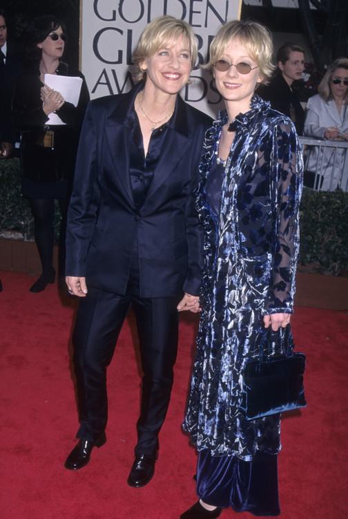 Эллен Дедженерес и Анн Хеч, 1998