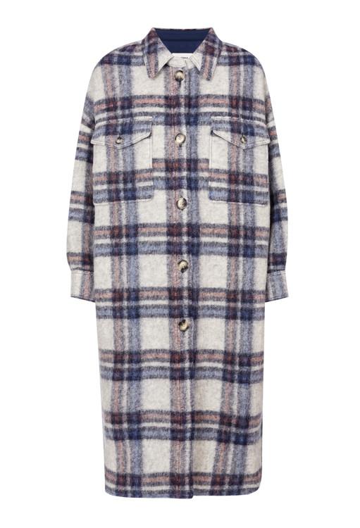 Пальто из шерсти и полиэстера, Isabel Marant Étoile (helen-marlen.com)