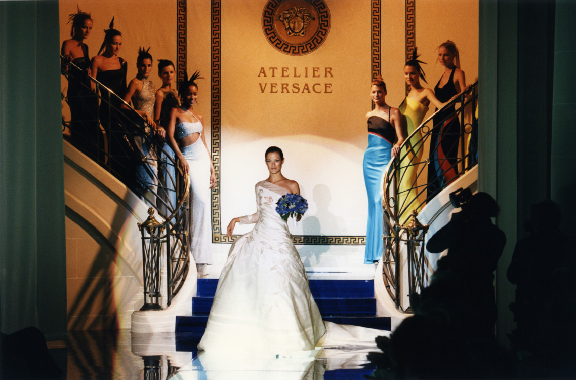 Versace Haute Couture осень-зима 1996/1997