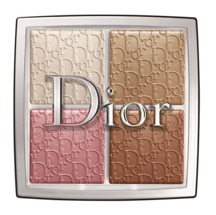 Палетка Dior Backstage Glow: хайлайтер, шиммер и румяна