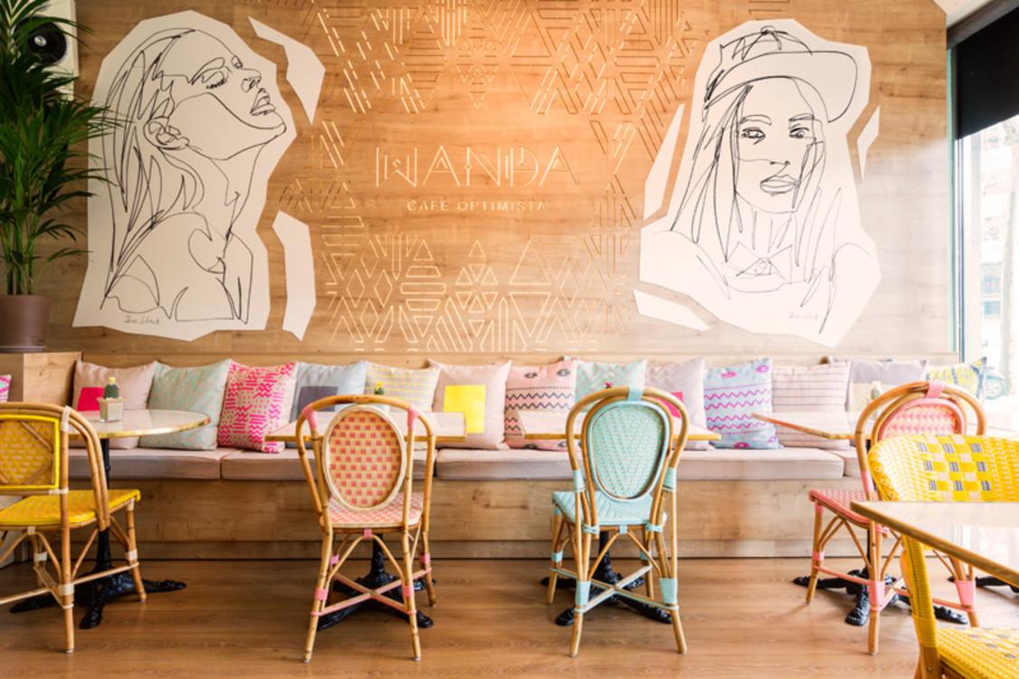 Wanda Café Optimista, Мадрид, Испания