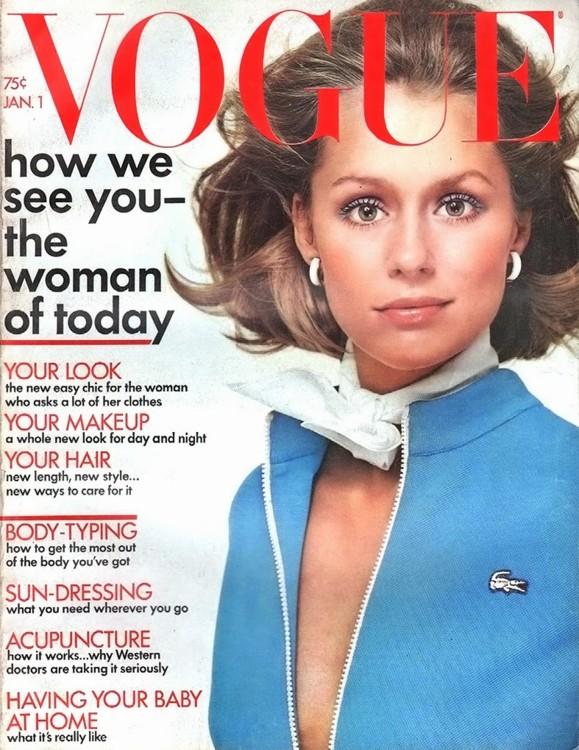 Vogue US, январь 1972