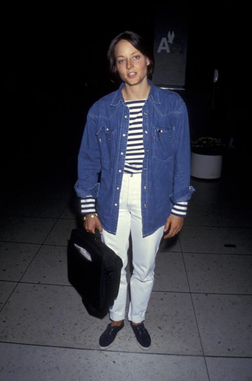 Джоди Фостер в Лос-Анджелесе, 1994 год