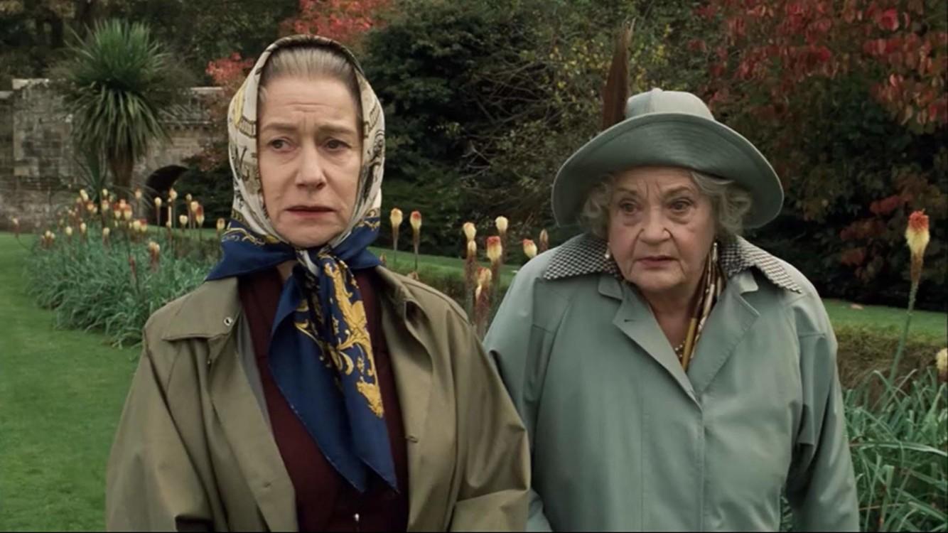 "Гелен Міррен та Сільвія Сімс у фільмі ""Королева"", 2006"
