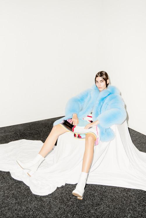 Шуба Blood&Honey, платье Dina Lynnyk