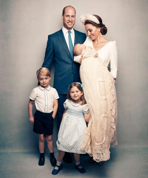 Хрещення принца Луї Кембриджського, 2018
