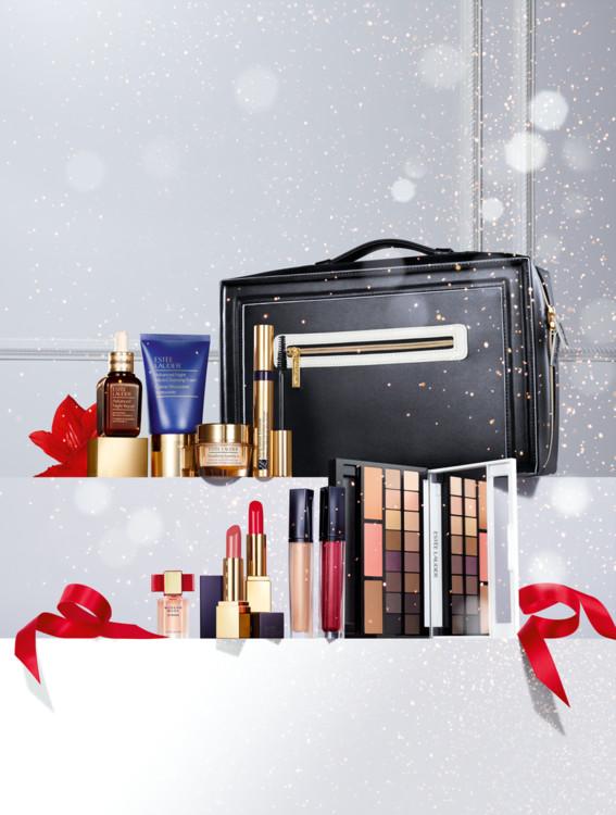 Рождественский набор для макияжа в кейсе Blockbuster, Estēe  Lauder