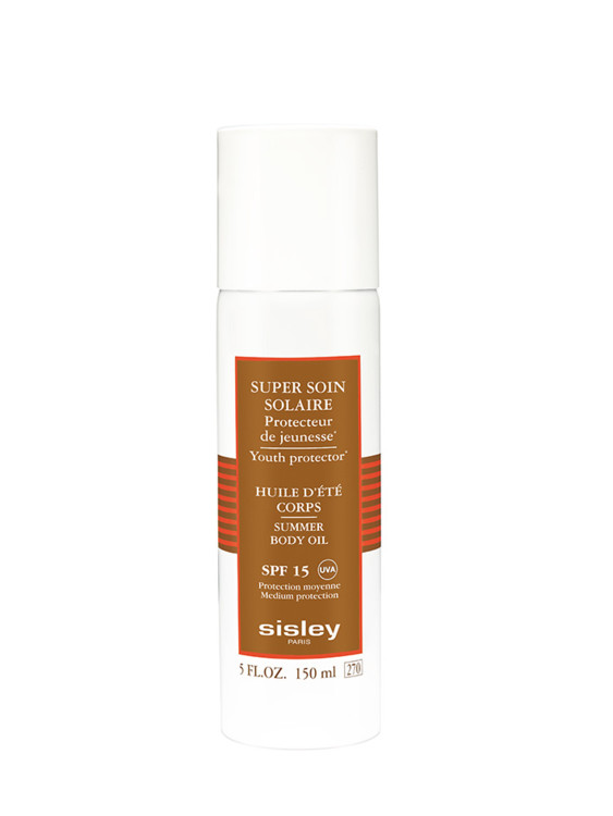 Солнцезащитное масло для тела Summer Body Oil SPF 15, Sisley
