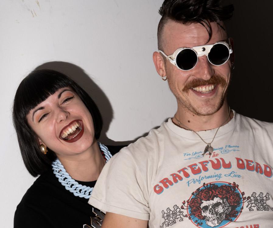 Никита Кравцов с женой Камий Санье-Кравцовой, фото Hugo Cesto
