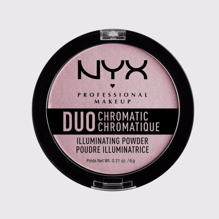Подсвечивающая пудра Duo Cromatic, NYX