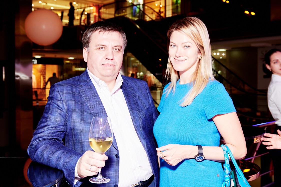 Олег Дзюбяк и Анна Денисова