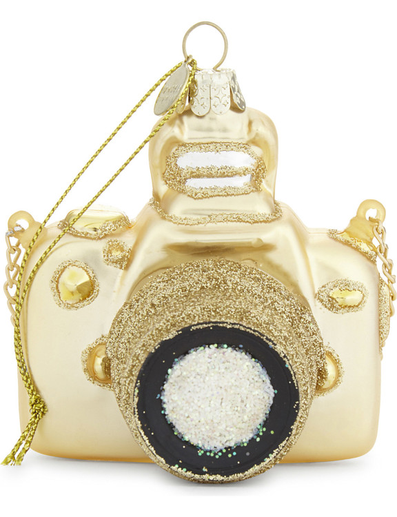 Елочная игрушка-фотоаппарат, Selfridges