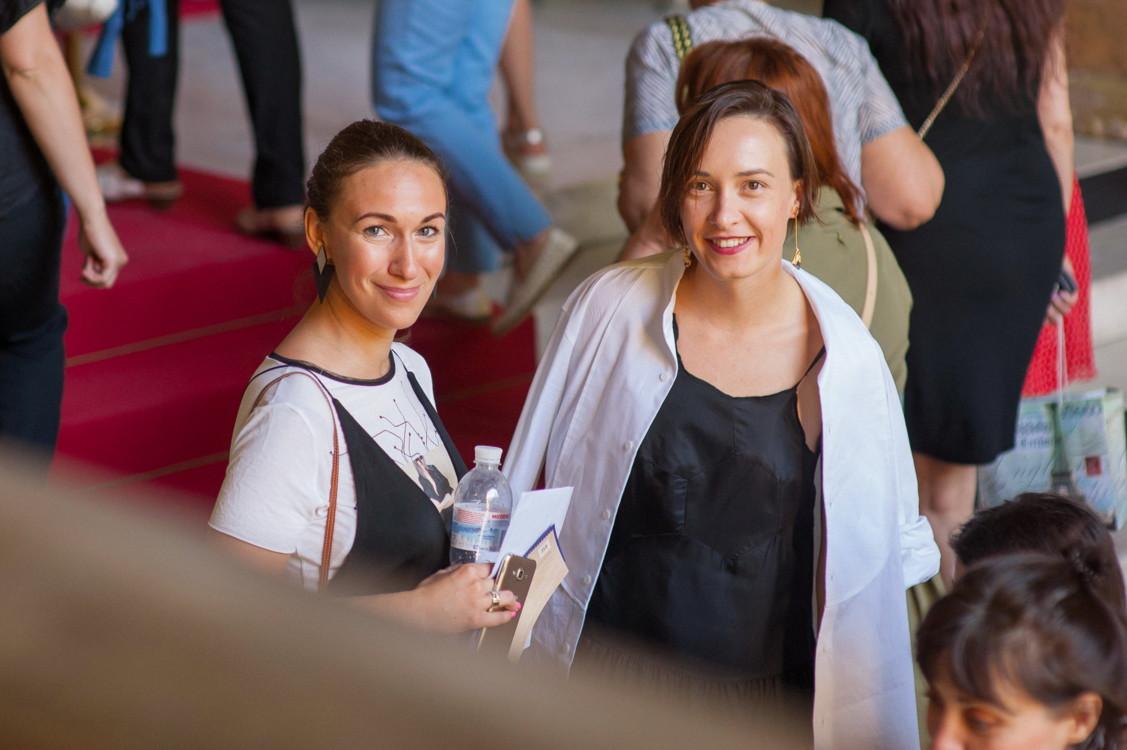 Ольга Сушко и Дарья Слободяник