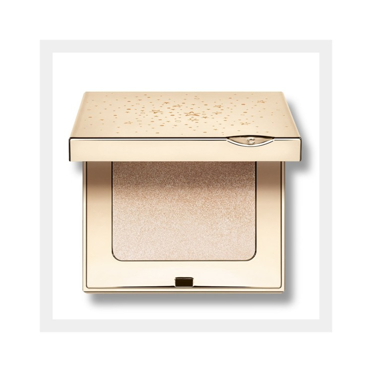 Хайлайтер для лица и декольте Illuminating Sculpting Powder, Clarins