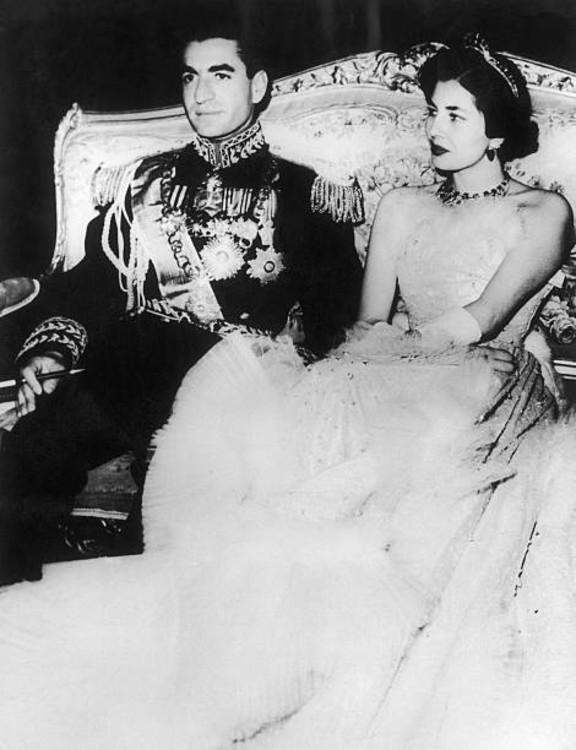Мохаммад Реза Пехлаві і принцеса Сорайя Есфандіарі-Бахтіар, 12 лютого 1951