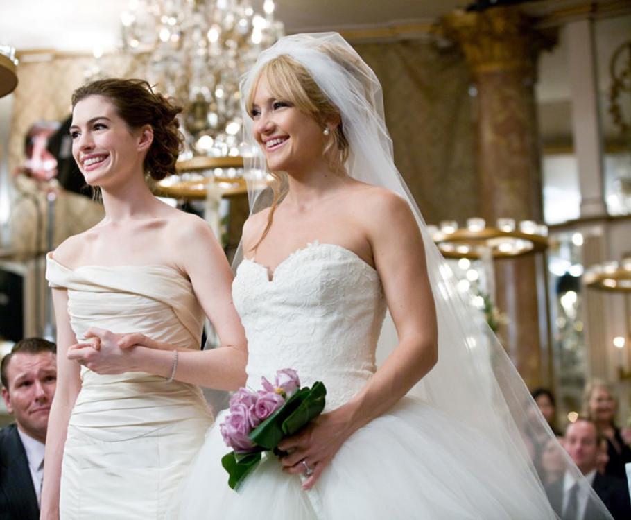 "Энн Хэтэуэй и Кейт Хадсон в ""Битве невест"", 2009"