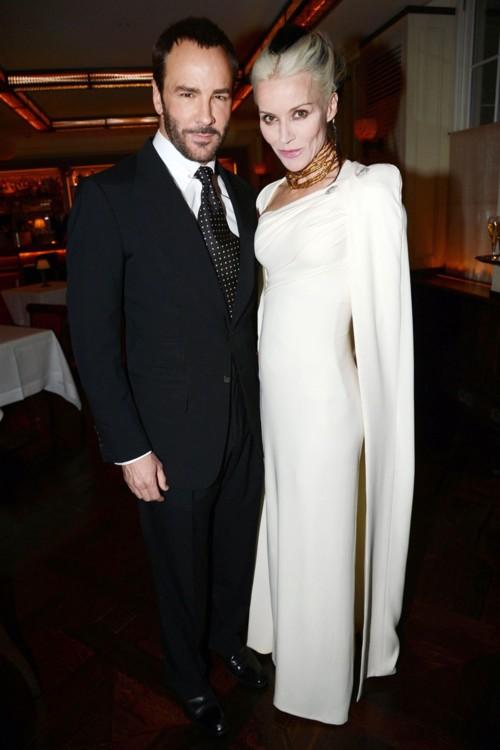 С Дафной Гиннесс, 2012 год