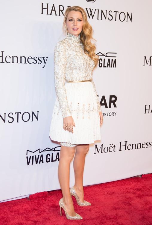 Блейк Лайвли в Chanel Couture на балу amfAR, 2016 год