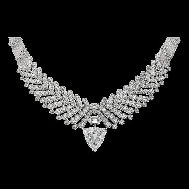 Колье из новой High Jewelry коллекции Résonances de Cartier