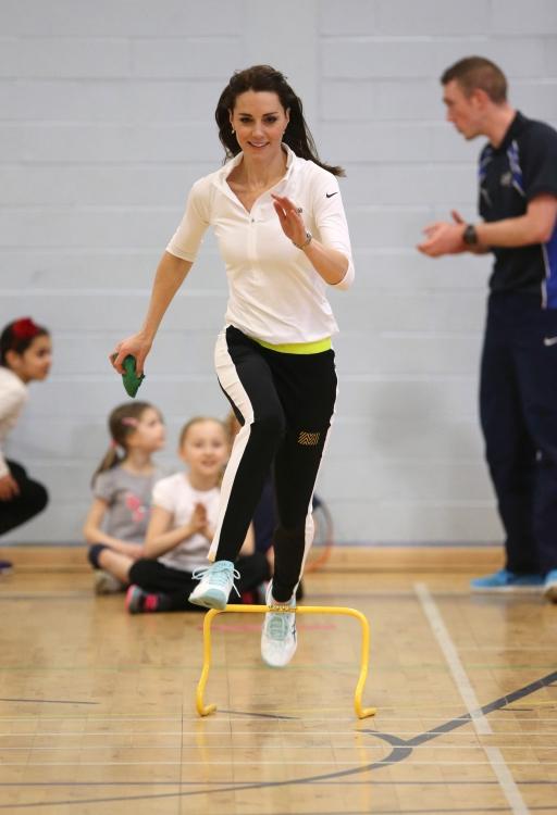 Кейт Миддлтон на спортивных соревнованиях