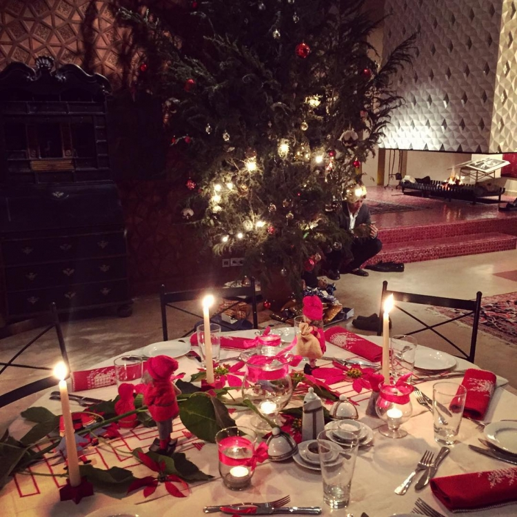 Рождественский стол Констанс Яблонски
