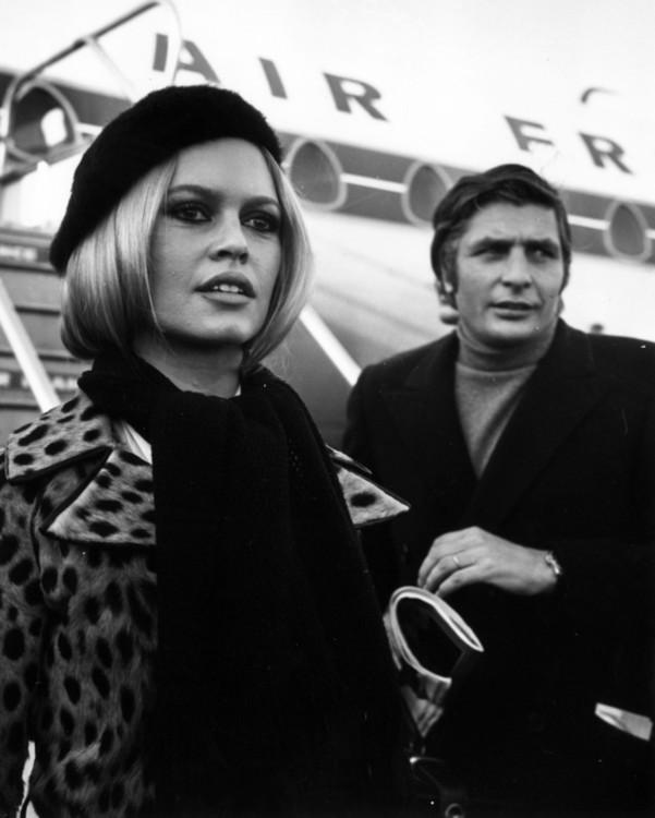 Бриджит Бардо и Гюнтер Закс, 1967