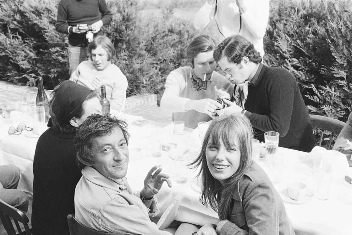 Серж Генсбур и Джейн Биркин, 1969