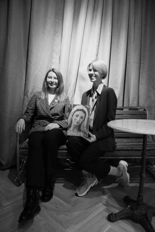 Елизавета Герман и Мария Ланько
