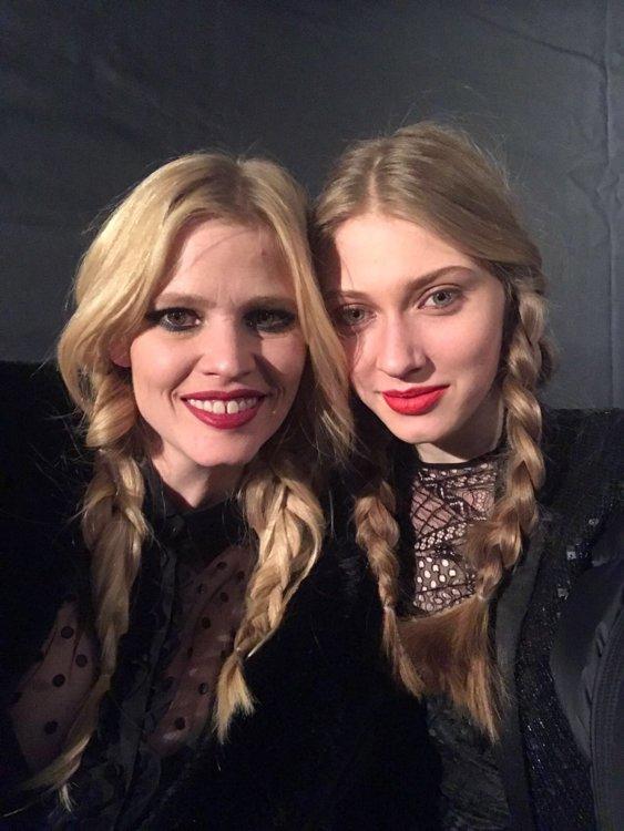 Лара Стоун и Марина Полканова