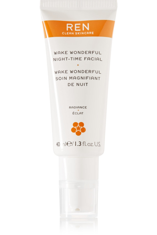 Нічний засіб з гліколевою і молочною кислотами Wake Wonderful Night-Time Facial, REN