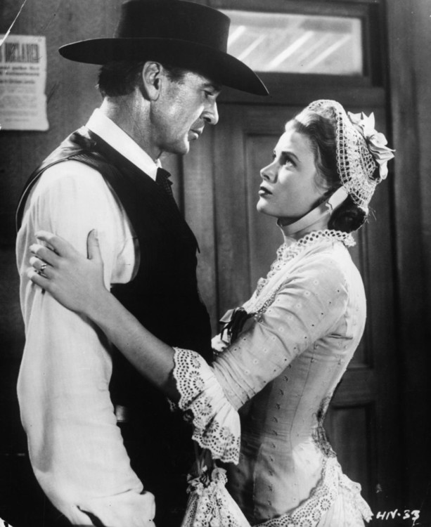 """Грейс Келли в """"Ровно в полдень"""", 1952"""