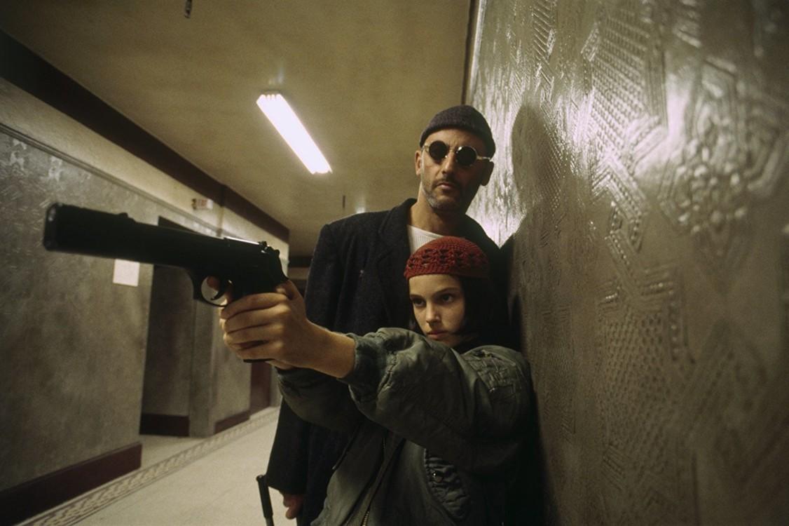 Кадр з фільму «Леон», 1994