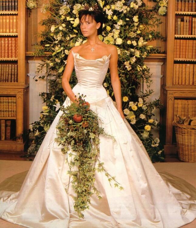 Свадебное платье Виктории Бекхэм