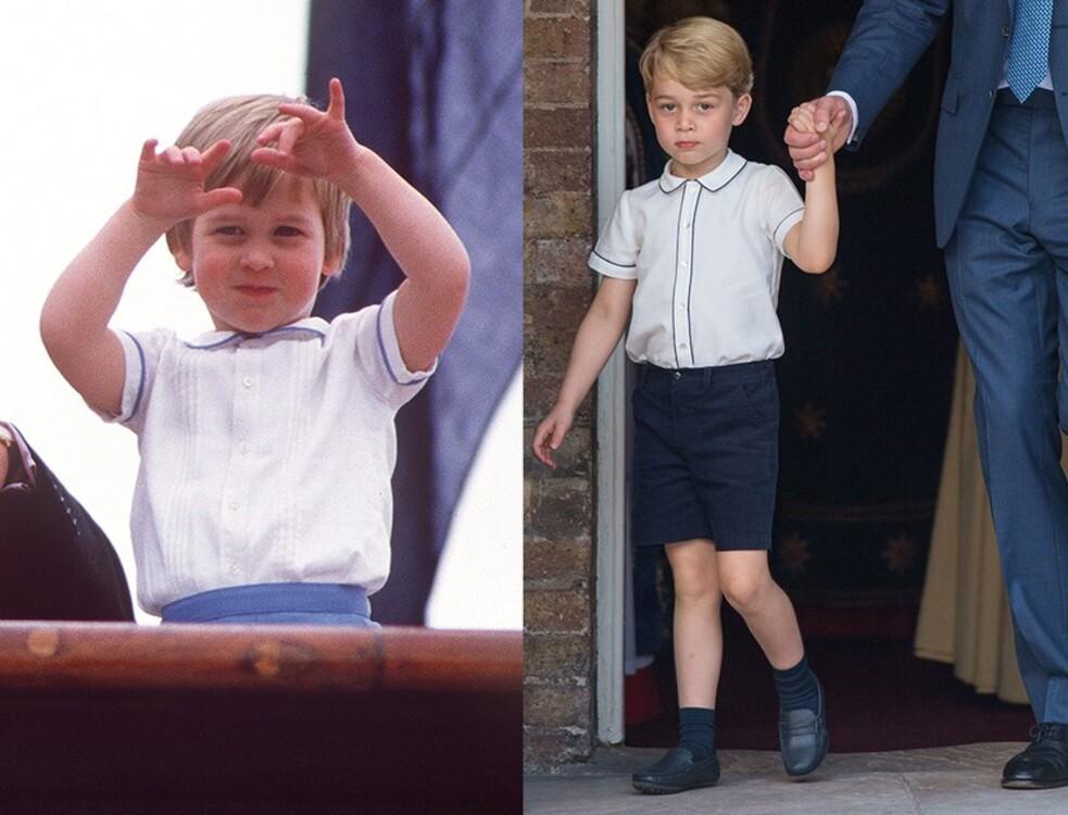 Принц Уильям, 1985 / принц Джордж, 2018