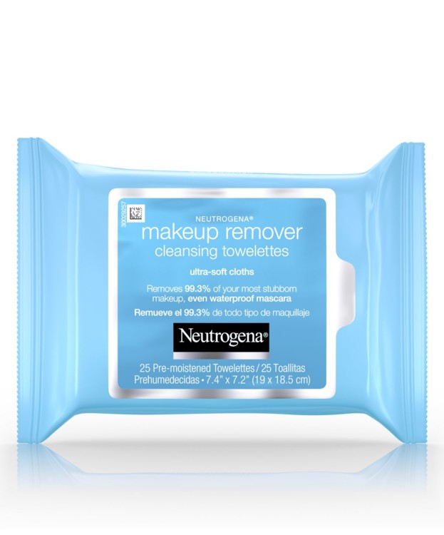 Очищающие салфетки Makeup Remover Cleansing Wipes, Neutrogena