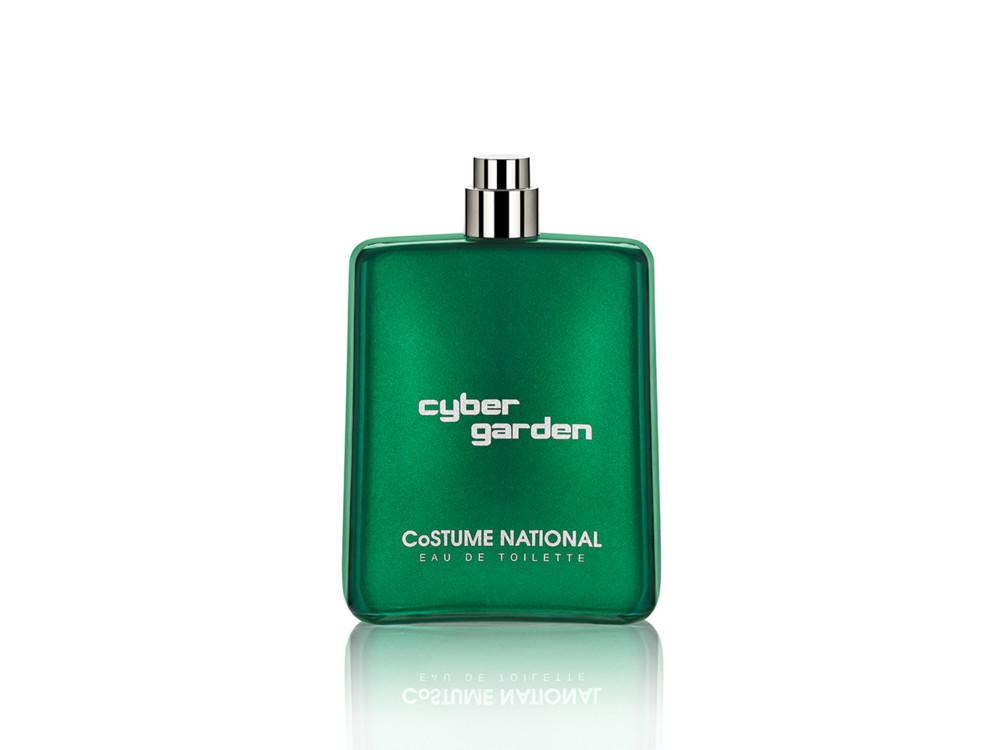 Cyber Garden, Costume National, с нотами зелени и винила