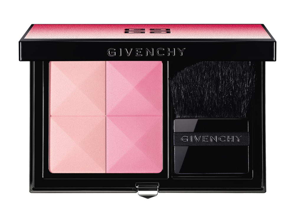 Чотириколірний набір рум'ян Prisme Blush з весняної колекції макіяжу Givenchy, лімітований випуск