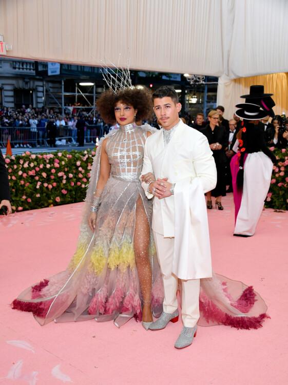 Приянка Чопра и Ник Джонас, оба в Dior