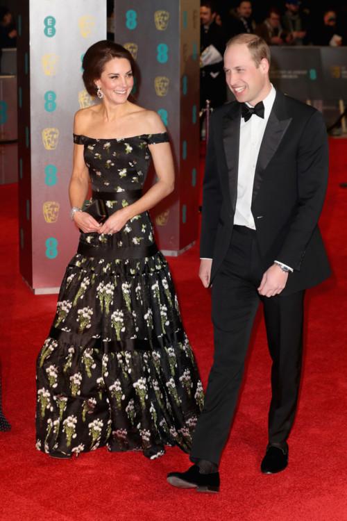 Герцоги Кембриджские на церемонии BAFTA 2017