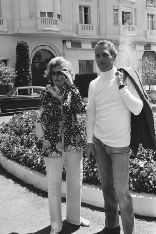 Джоан Вудворд и Пол Ньюман, 1973