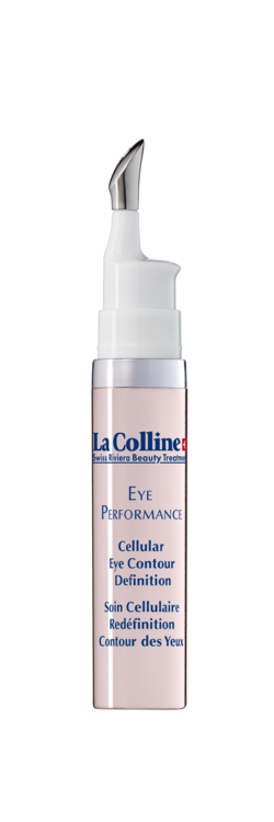 Уповільнити старіння допоможе крем для шкіри навколо очей Cellular Eye Contour Definition, La Colline. В його основі – пептиди і клітинний комплекс, який перетворює вільні радикали в воду і кисень.