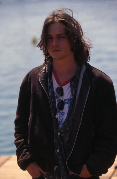 Джонни Депп в Канах, 1992